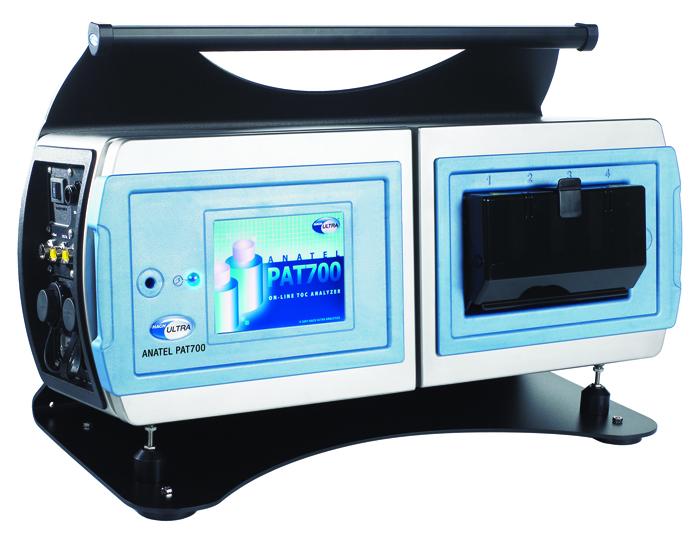 Analizador de TOC y conductividad PAT 700