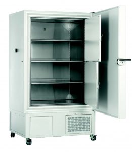 """ULTRACONGELADOR -86°C; 120 litros para 72 cajas de 2"""""""