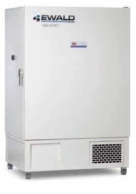 Ultracongelador vertical EWALD v86-1000