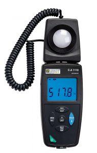 Luxómetro registrador C.A. 1110