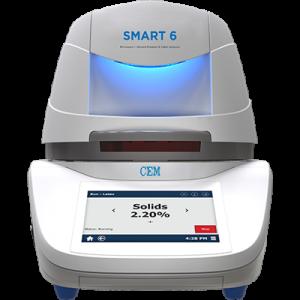 CEM Smart 6: Analizador de humedad y sólidos