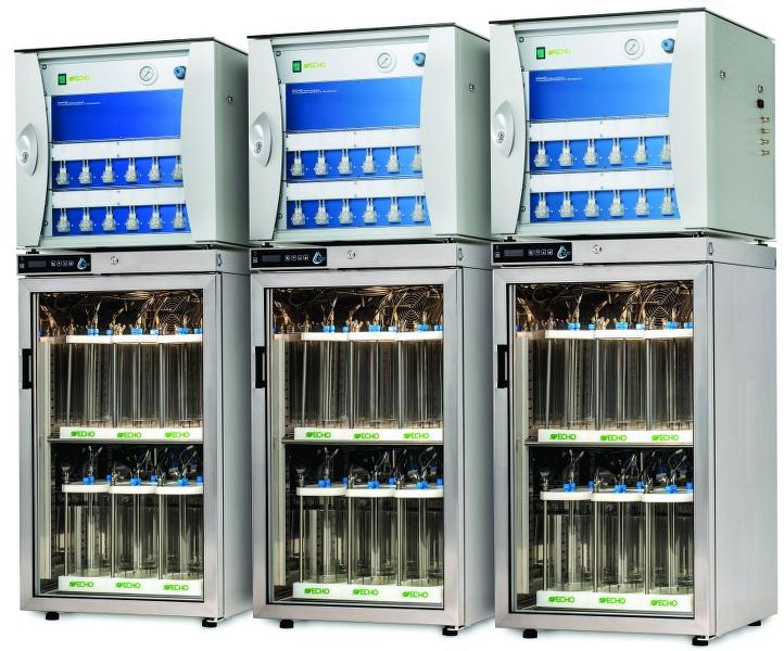 Respirómetro ECHO Instruments de 36 canales