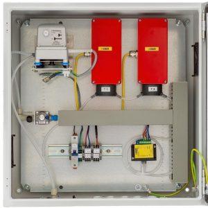 Sistema de succión para medición de biogás