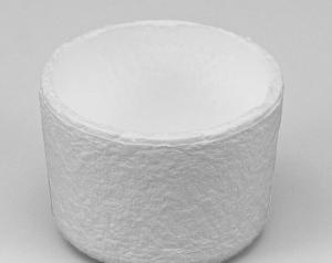 Crisoles de fibra de cuarzo