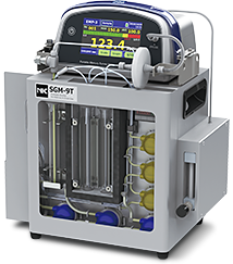 Nippon SGM-9: Medición de mercurio en el gas de chimenea