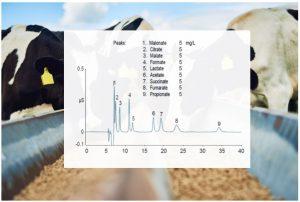 Determinación de ácidos orgánicos en alimentación animal